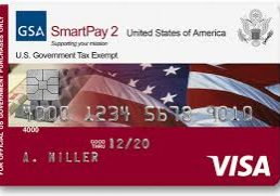 Accepting GSA SmartPay Cards